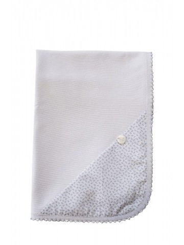 BLUE BREEZE COTTON SWADDLE