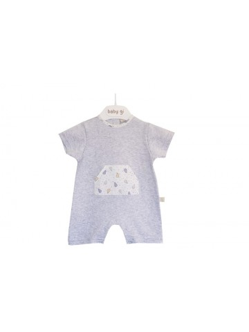 BOY COLORS COTTON ROMPER