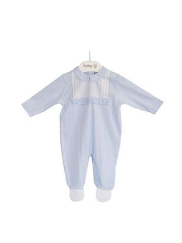 COTTON SMOKED BABYGROW