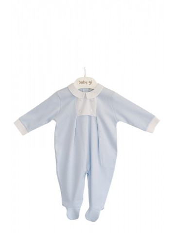 COTTON BABYGROW W/ CHEST...