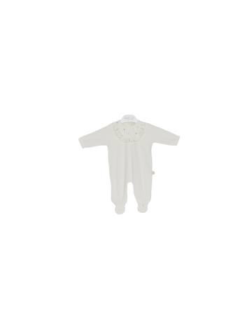 Rabbit frilly babygrow