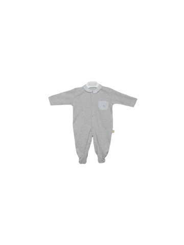 Babygrow w/ embroidered pocket