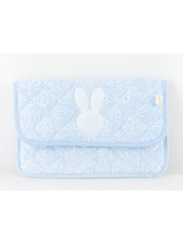 Bunny Blue Document Holder