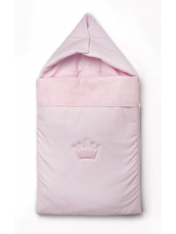 Saco Dormir Little Crown Rosa