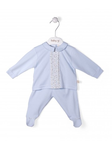 Blue Cotton Vicky Set Of Two