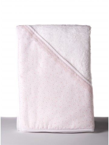 Hooded Bath Lovely Pink Towel