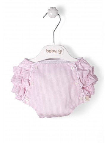 Pink Stripes Bloomers