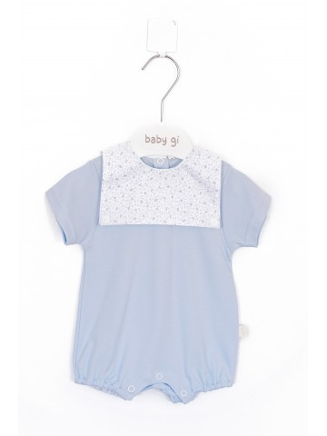 Blue Cotton Lovely Sky Romper